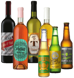 Wine & Beer Bottle Labels