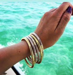 Jelly Beach Bangle Bracelets