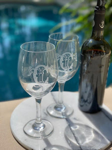 Brennan Collection Stemmed Wine Glasses