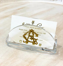 Kensington Acrylic Business Card Holder