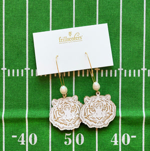 LSU Auburn Clemson Tiger Game Day Earrings