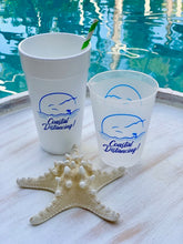 Coastal Distancing Foam Cups, 20oz