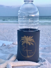 Palm Tree Family Name Neoprene Koozies
