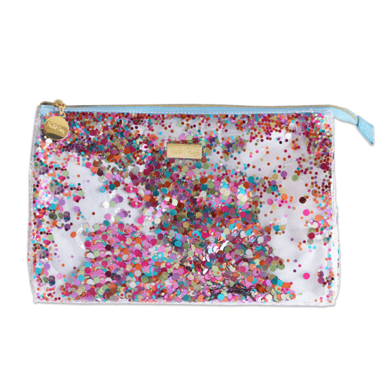 Biggie Confetti Cosmetic Zip Bag