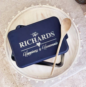 Personalized Pan /Casserole Container