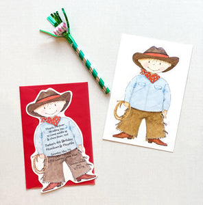 Cowboy Western Party Invitations
