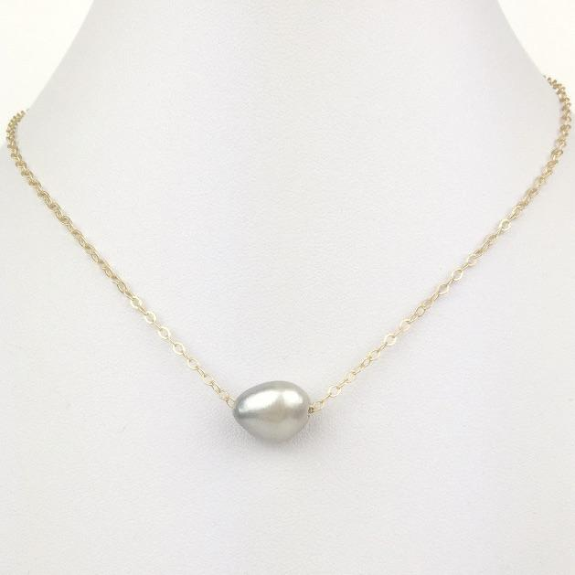 Deep South Beach Pearl Necklace