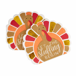 Fall Turkey Paper Napkins - Set of 20