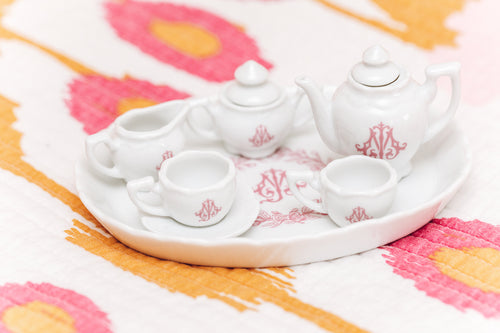 Porcelain Children's Personalized Tea Set