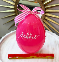 Jumbo Personalized, Plastic Easter Eggs