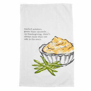Thanksgiving Mashed Potato Towel