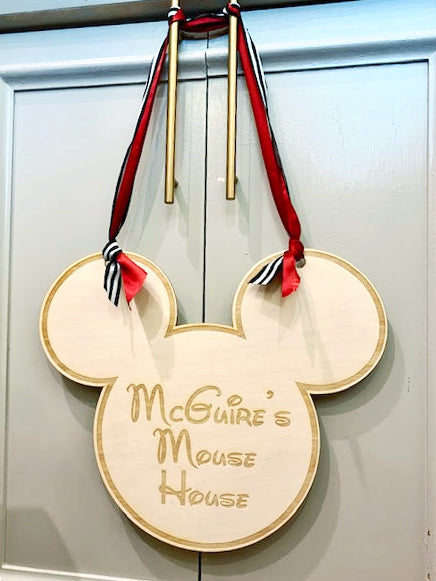 Mickey Mouse Door Decor