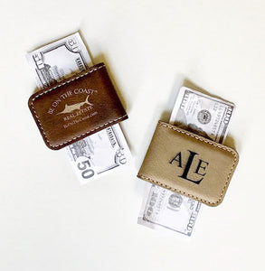 Trist Suede Set - Money Clip & Bottle Opener