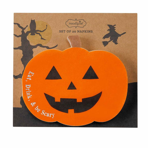 Pumpkin Halloween Paper Napkins - Set of 20