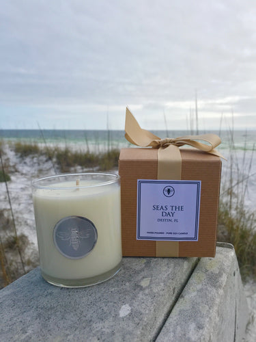 Seas The Day Candle, 11 oz
