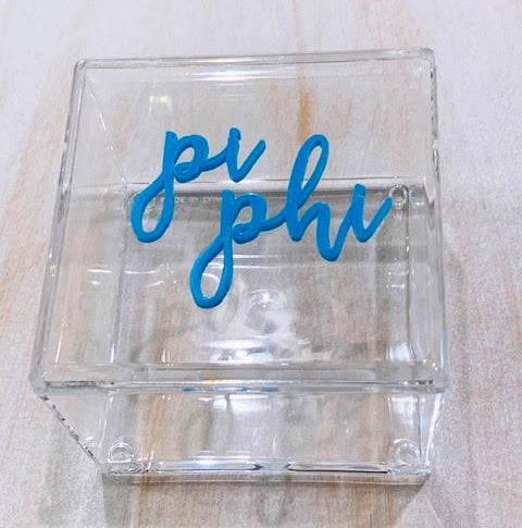 Sorority Girl Acrylic Box