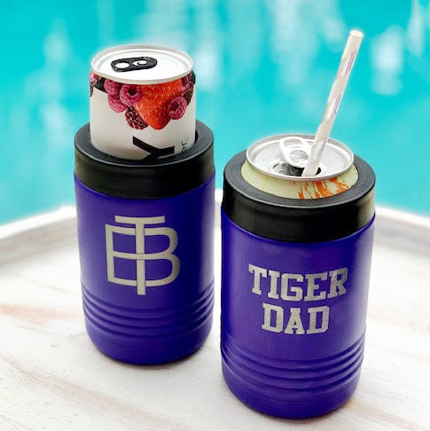 Tiger Dad Stainless Steel Koozie