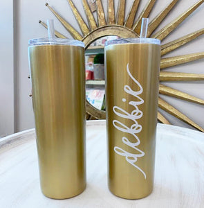 Tall Drink Tumbler Stainless Steel