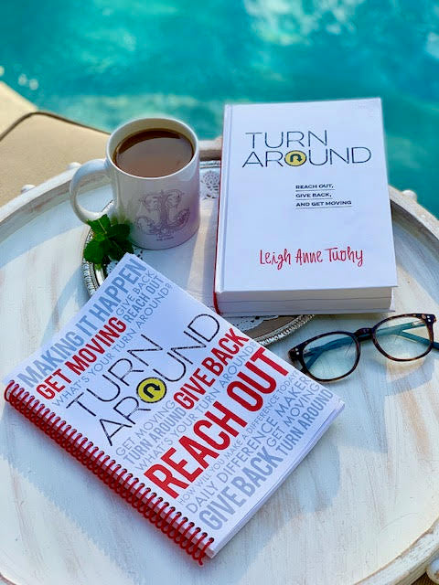 Turn Around Journal, by Leigh Anne Tuohy