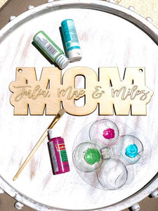 "Mother's Day ""Mom"" Take It & Make It Craft Kit"