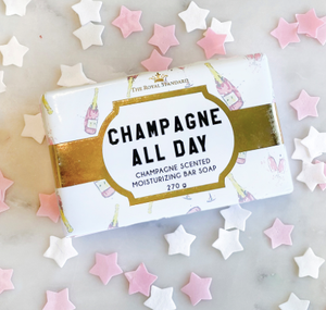 Sip, Sip, Hooray Champagne All Day Bath Soap