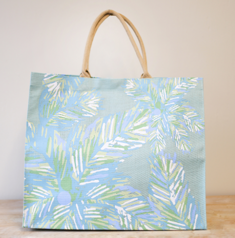 Santa Rosa Beach Blue Grass Beach Bag Tote