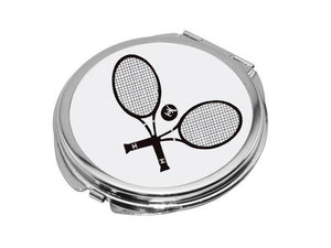 Compact Mirror - Chanel Tennis Rackets
