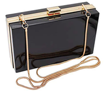 Clear Box Clutch Crossbody Bag - Stadium Approved