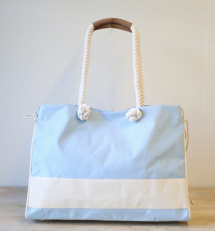 Dockside Seagrove Blue Beach Bag Tote