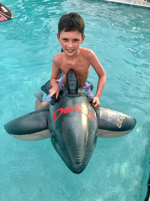 Shark Pool Float