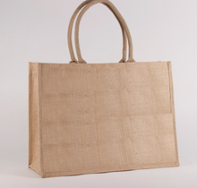 Natural Jute Pocket Tote