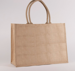 SeaGrass Jute Pocket Tote