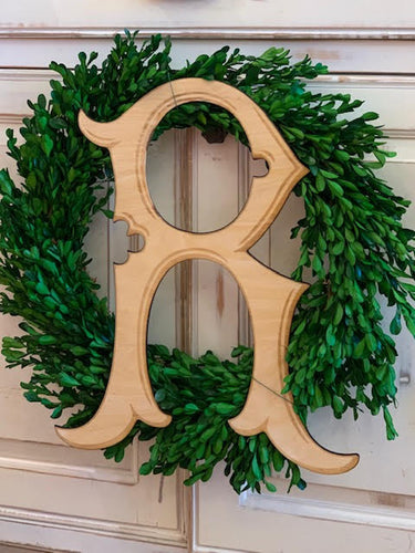 Kensington Wooden Single Letter Door Decor