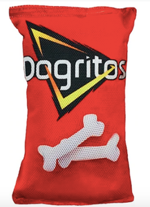 Plush Dog Cat Pet Toy, Dogritos Chips