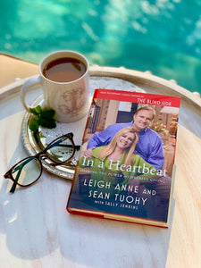 In a Heartbeat Book, by Leigh Anne Tuohy, Sean Tuohy + Sally Jenkins