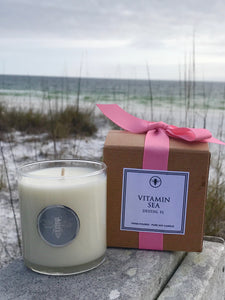 Vitamin Sea Candle, 11 oz
