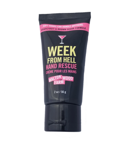 Week From Hell Hand Rescue Lotion - 2 oz