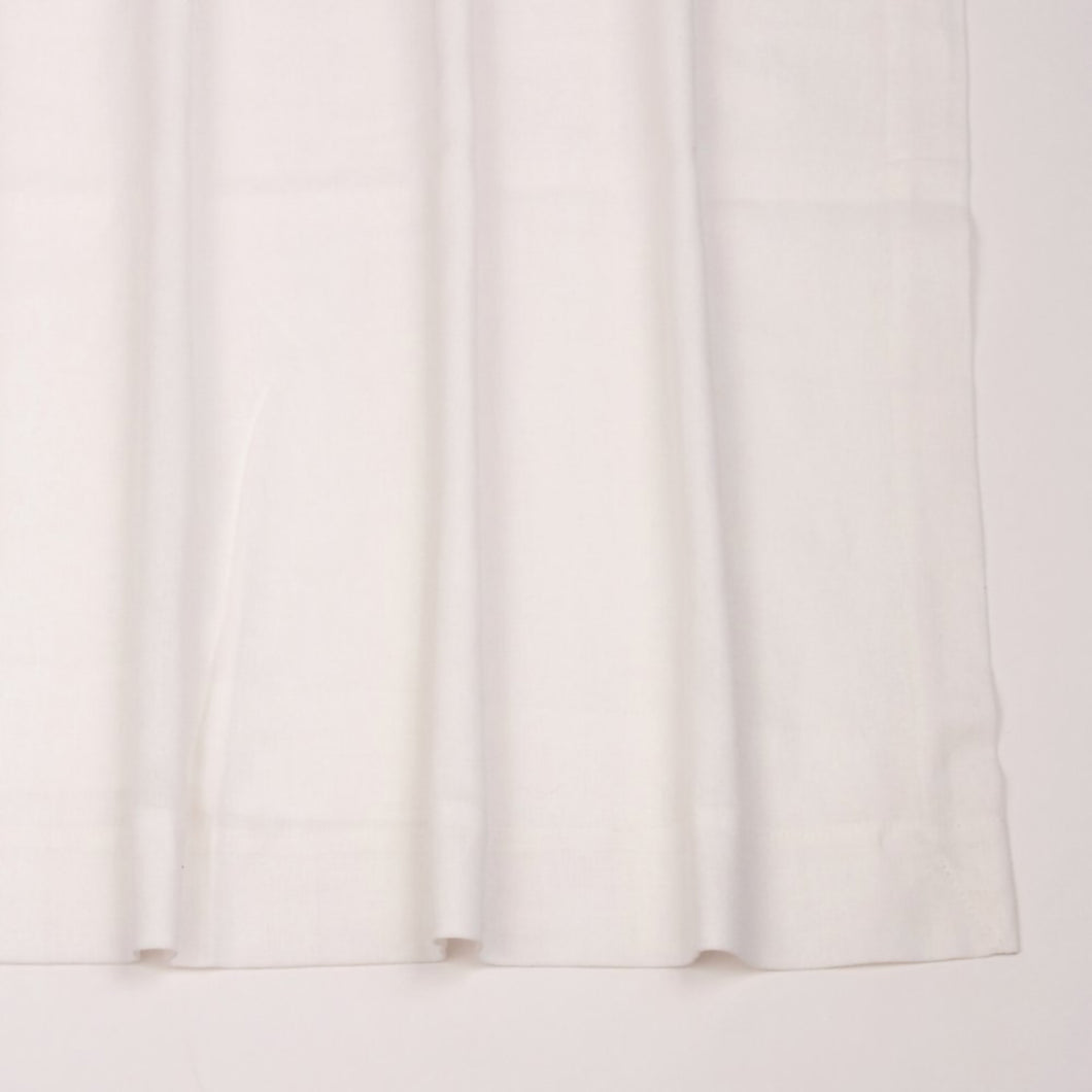 White Pocket Drape
