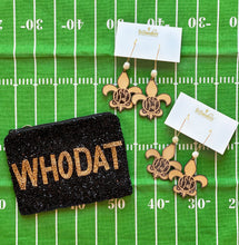 Who Dat Game Day Earrings