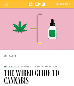 A Complete Guide to Cannabis, THC & CBD (WIRED)