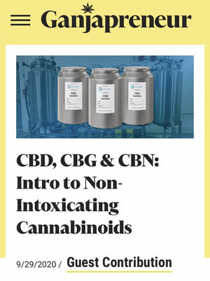 What is and how does CBD, CBG, or CBN Help?