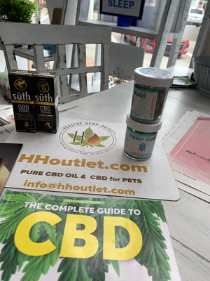 New Hemp Extraction CBD Products at HH OUTLET