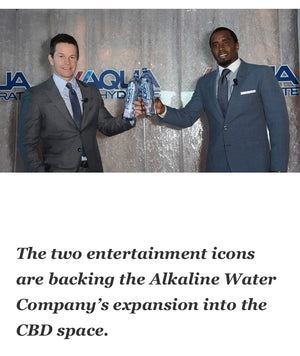 Aquahydrate CBD Water Funded by Puff Daddy and Markie Mark!