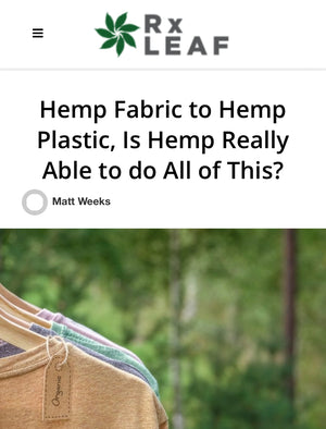 Can Hemp Replace Most Plastics and Paper Products?