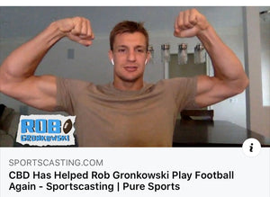 CBD Has Helped Rob Gronkowski Play Football Again