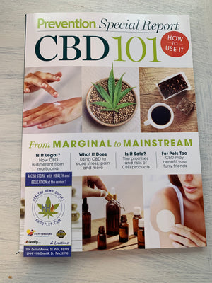 Newsstand Publication Out Now - CBD 101 from Prevention Magazine