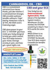 What is CBD oil and what is my ecs