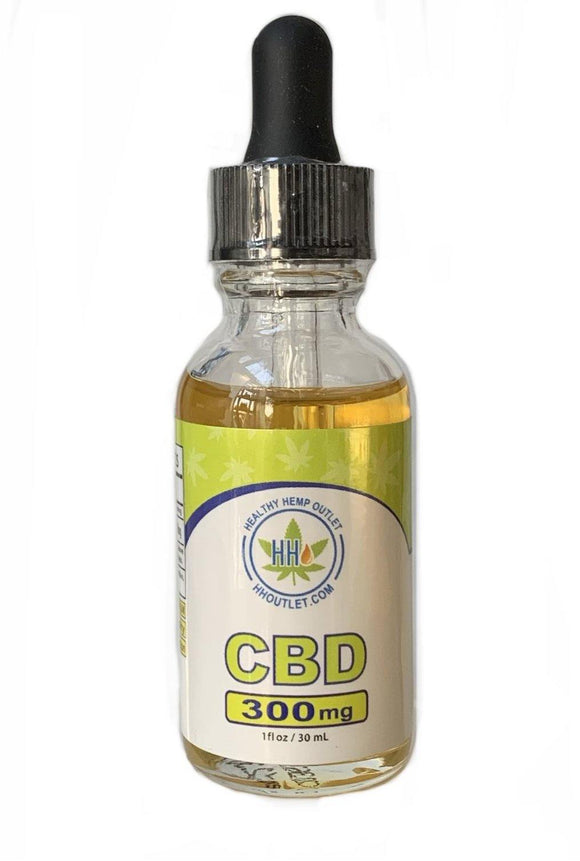 Our Best CBD OIL Starter Bottle  - 300mg - HH OUTLET