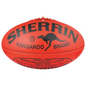 AFL cardboard football cutout