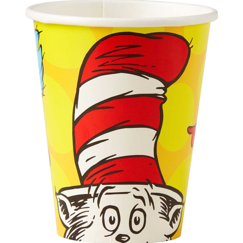Dr Seuss Cat In The Hat Paper Cups